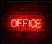 Office Neon Sign 1
